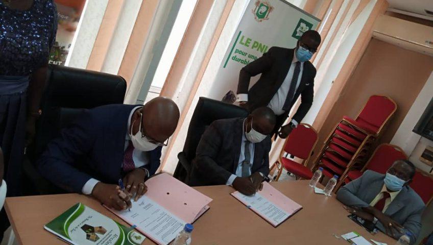 Cote d'Ivoire MoU Signature